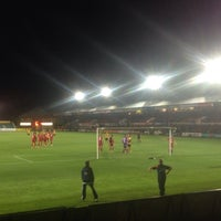 Photo taken at Rodney Parade by Andy H. on 9/29/2015