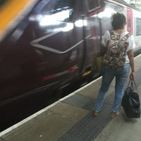 Photo taken at Platform 8 by Andy H. on 9/2/2016