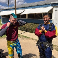 Photo taken at Gold Coast Skydivers by Richard P. on 3/30/2015