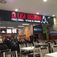 Photo taken at La Casa Argentina Fast Grill by Aleksandar S. on 10/24/2012
