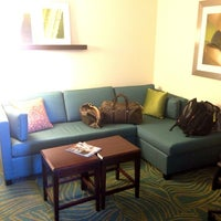 Photo taken at SpringHill Suites Sacramento Airport Natomas by Amber S. on 4/15/2013