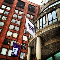 Photo taken at NYU Stern School of Business by Steve M. on 3/8/2013