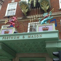Photo taken at Fortnum & Mason by bc17ab on 10/1/2012
