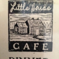 Photo taken at Little House Cafe by Scott O. on 7/17/2013