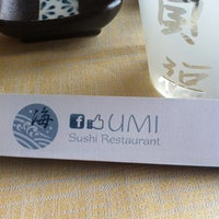 Photo taken at Umi by Andrea on 5/22/2013