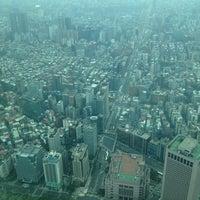 Photo taken at Taipei 101 Observatory by Arki K. on 4/18/2013