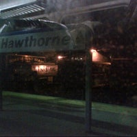Photo taken at Metro North - Hawthorne Train Station by Vicario Brensley P. on 1/24/2013