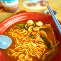 Photo taken at QQ Pan Mee & Ramen Restaurant by erica p. on 12/17/2015