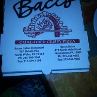 Photo taken at Bacco Bistro & Pizza by ALEESIA M. on 9/1/2013