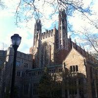 Photo prise au Yale Law School par Justin le4/26/2013