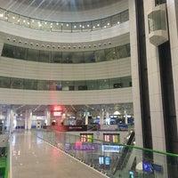 Photo taken at Astana Nursultan Nazarbayev International Airport (TSE) by Алексей З. on 3/27/2013