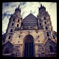 Photo taken at St. Stephen's Cathedral by Zdencza :) on 12/3/2012