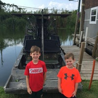 Photo taken at Airboat Tours by Arthur by Tiffany on 7/9/2016