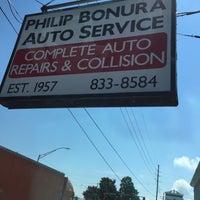 Photo taken at Philip Bonura Auto Service by Tiffany on 7/1/2016
