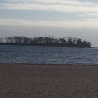 Photo taken at Silver Sands State Park Boardwalk by Suzanne W. on 12/26/2016