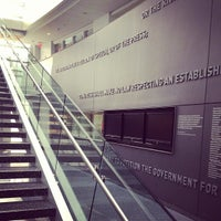 Photo taken at S.I. Newhouse School of Public Communications by Danya S. on 11/10/2012
