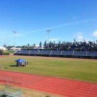 Photo taken at Bermuda National Sports Centre by Niké B. on 2/6/2014
