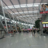 Photo taken at Dusseldorf Airport (DUS) by HMH on 3/11/2013
