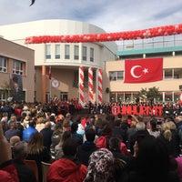 Photo taken at TAKEV Karşıyaka Kampüsü by Ergün D. on 10/29/2017