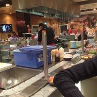 Photo taken at YO! Sushi by Liza K. on 11/10/2012