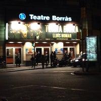 Photo taken at Teatre Borràs by Lluis T. on 11/28/2014