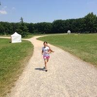 Photo taken at Parc départemental de Lacroix-Laval by Jonathan M. on 7/7/2013