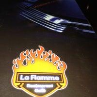 Photo taken at La Flamme by Hisham A. on 3/9/2013