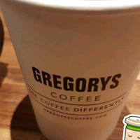 Photo taken at Gregory's Coffee by Bruno S. on 4/24/2017