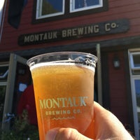 Photo taken at Montauk Brewing Company by Brad V. on 10/10/2015
