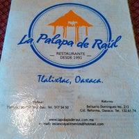 Photo taken at La Palapa De Raul by Alejandro O. on 7/30/2016