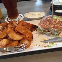 Photo taken at Burgerado by Axel K. on 4/1/2015