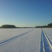 Photo taken at Kylästinlahti by Hannu H. on 3/31/2013