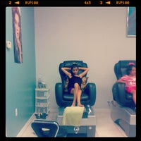 Photo taken at Angelique Nail Spa by Andrea Marie T. on 3/29/2013
