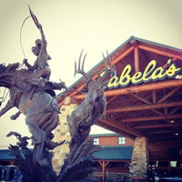 Photo taken at Cabela's by Narciso A. on 11/16/2012