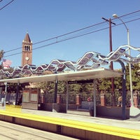 Photo taken at Expo Park/USC Metro Station by Narciso A. on 3/14/2013