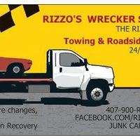 Photo taken at Rizzo wrecker Service LLC by Robert R. on 6/1/2013