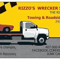 Photo taken at Rizzo's Towing & Recovery LLC by Robert R. on 6/9/2013