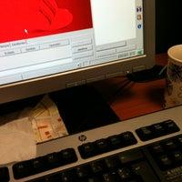 Photo taken at Vox Banco Santander by Belen A. on 1/16/2013