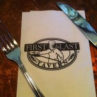 Photo taken at First & Last Tavern by Matthew M. on 11/21/2012