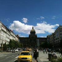 Photo taken at Wenceslas Square by nelen on 5/20/2013