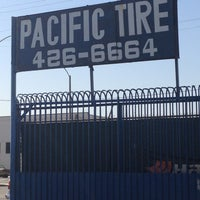 Photo taken at Pacific Tire Service by Christian G. on 5/2/2013