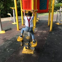 Photo taken at Hürriyet Parkı by Alp N. on 6/24/2018