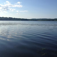 Photo taken at Rockland Lake State Park by Vanessa B. on 6/19/2013