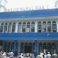 Photo taken at Masjid Nurul Maa'i PDAM by Said I. on 9/14/2012
