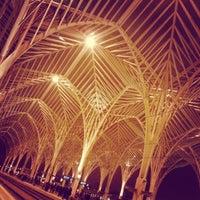 Photo taken at Gare do Oriente Train Station by Bernardo V. on 1/23/2013