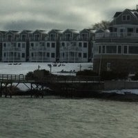 Photo taken at Bar Harbor Pier by Mindy L. on 12/28/2012