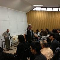 Photo taken at Sala De Coro Sinfonico Teatro UdeC by Kevin L. on 4/25/2013