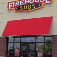 Photo taken at Firehouse Subs by Perla O. on 10/20/2013