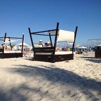 Photo taken at Mamita's Beach Club by Alejandro V. on 12/8/2012