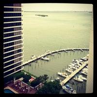 Photo taken at Miami Marriott Biscayne Bay by Michelle L. on 5/29/2013